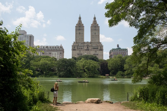 Tourist in Central Park #1