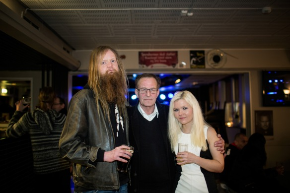 Nightlife. Øyvind Paulsen (at left), Svein Takla and Marianne Solheim