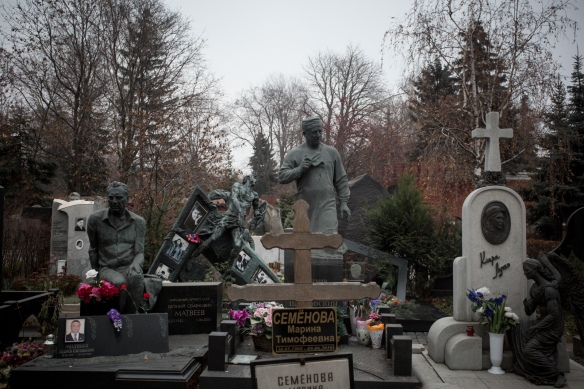Novodevichy Cemetery #05