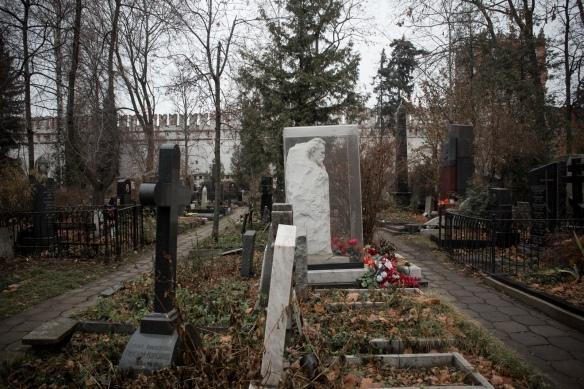 Novodevichy Cemetery #07